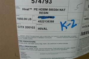 Picture of Hival PE HDBM 1650 Lbs.